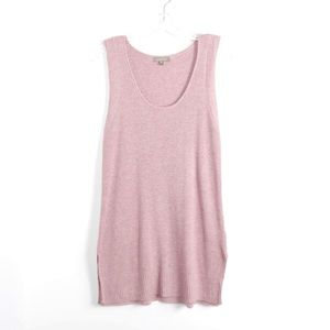 NWOT Lilla P dusty rose soft knit oversized top S